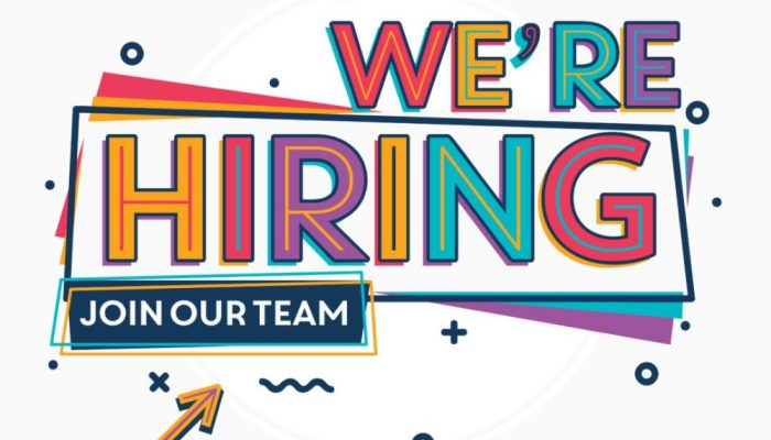 we are hiring 2021